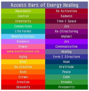 Access Bars energy healing