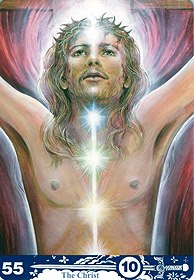 Aura-Soma 55 tarot The Christ